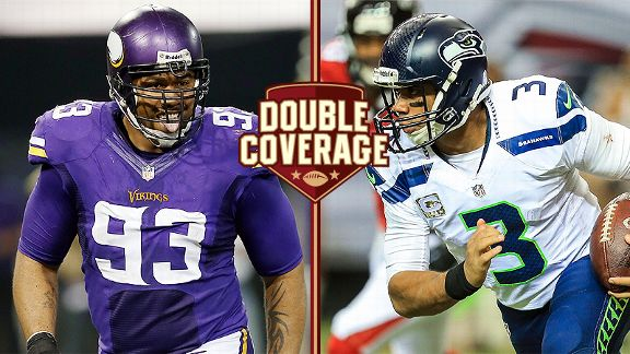Double Coverage: Vikings at Seahawks