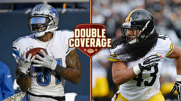 Double Coverage: Lions at Steelers