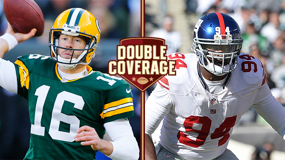 Double Coverage: Packers at Giants