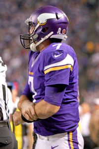 Vikings' Ponder expects to play vs. Seahawks