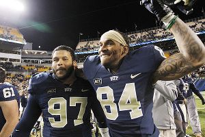 Aaron Donald and Ed Tinker