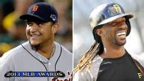 MVPs: Tigers' Cabrera, Pirates' McCutchen