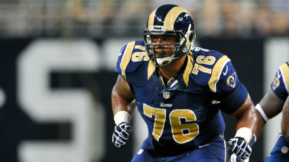 Moving Saffold to guard the right move