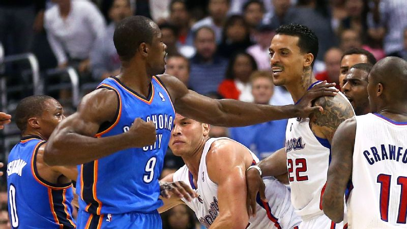 Matt Barnes found his way into the spotlight even after getting ejected from the Clippers-Thunder game Wednesday night.