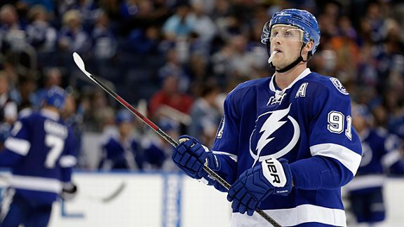 Tampa Bay Lightning center Steven Stamkos