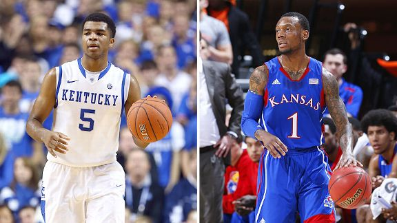 Andrew Harrison and Naadir Tharpe