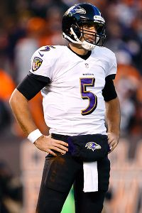 Will Joe Flacco challenge Ed Reed?