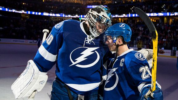 Ben Bishop, Martin St. Louis