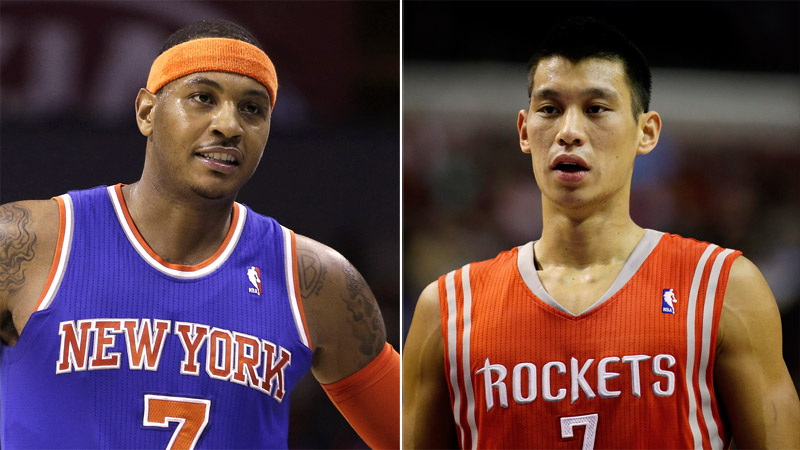 Once upon a time, Carmelo Anthony called the Rockets' offer to Jeremy Lin ridiculous. The latest chapter in the stars' saga unfolded Wednesday.