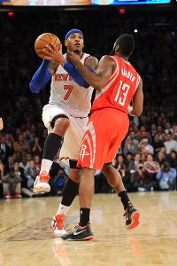 James Harden, Carmelo Anthony