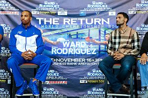 Andre Ward and Edwin Rodriguez