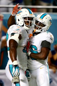 Charles Clay and Lamar Miller