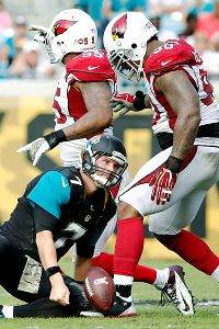 Despite a strong first quarter, Chad Henne and the Jacksonville offense could not score for the rest of the game.
