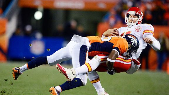 Broncos' D muscles up for win over Chiefs