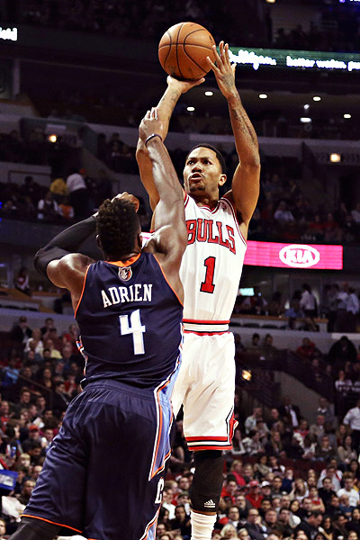 derrick rose shooting form - photo #7