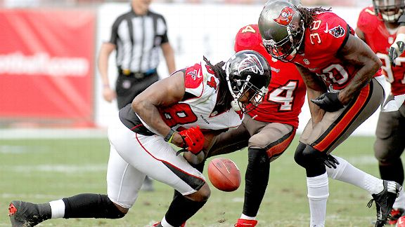 Roddy White and Dashon Goldson