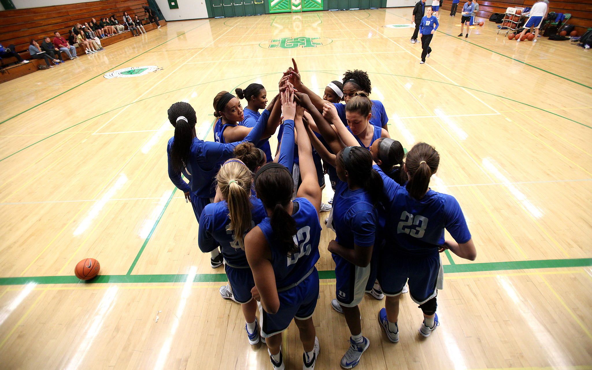 Huddle Up Total Access Duke Womens Basketball Espnw