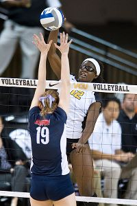Uzoamaka Ibeh has 183 kills this season, third-most on the 24-7 team.