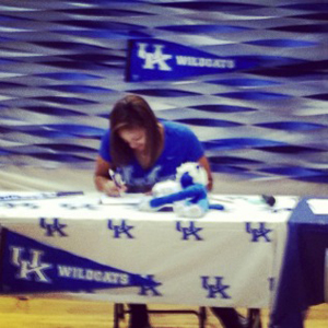 Alyssa Rice, the No. 20 prospect in the espnW HoopGurlz Top 100, signed a national letter of intent to play at Kentucky, which has one of the best 2014 recruiting classes in the nation. I(Photo Courtesy Alyssa Rice)/I