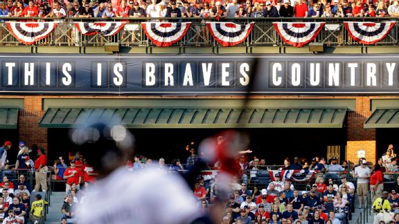 This is Braves Country sign