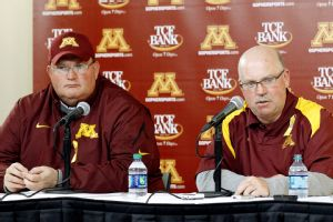 Tracy Claeys and Jerry Kill