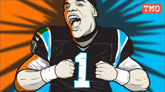 Cam Newton TMQ Illustration