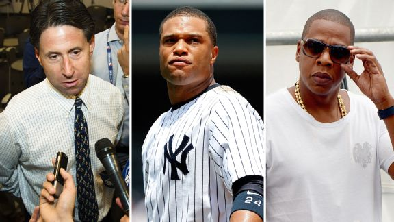 Jeff Wilpon, Robinson Cano, and Jay Z
