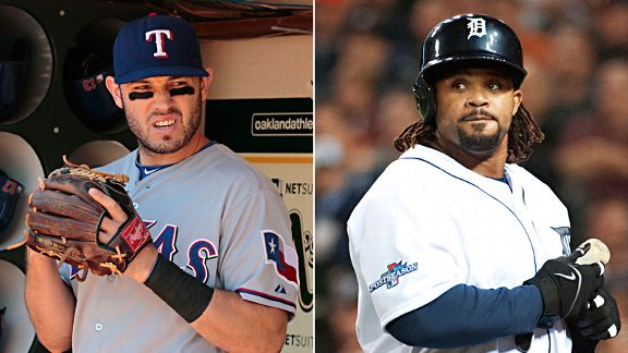 Ian Kinsler and Prince Fielder