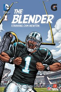 Cam Newton as 'The Blender'