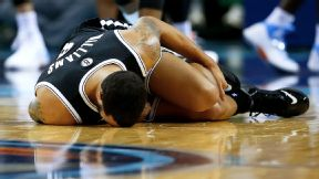 Nets' Williams reinjures ankle, leaves game