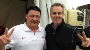 Colin Cowherd and USC's Ed Orgeron