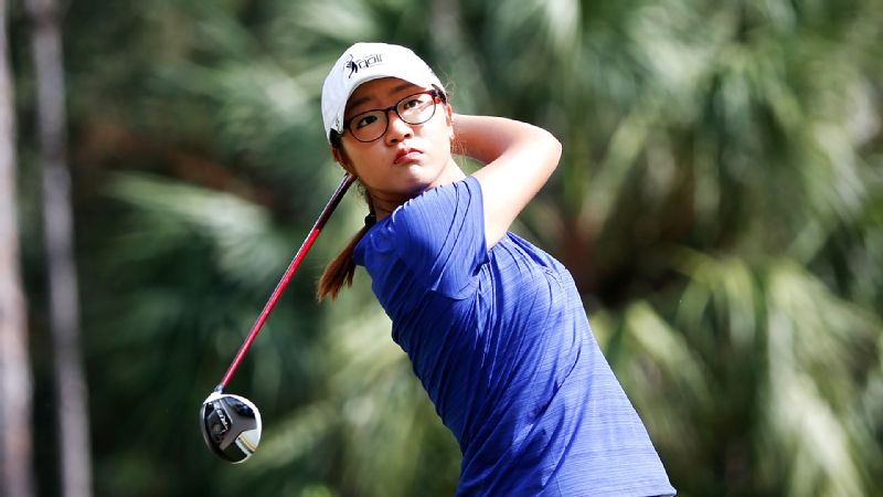 Playing for a paycheck for the first time, Lydia Ko fired a first-round 71, seven shots behind the leader.
