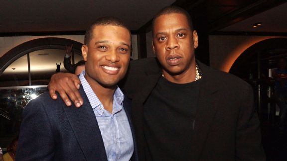 Robinson Cano and Jay Z
