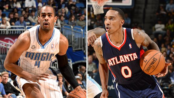 Arron Afflalo and Jeff Teague