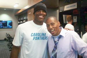 Cam Newton and Cedric King