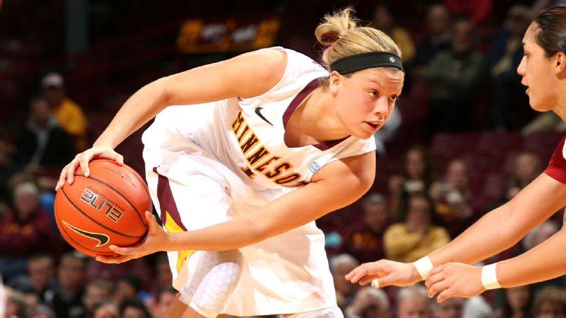 From playing hoops in the kitchen with her brothers, Rachal Banham now is a junior point guard for the University of Minnesota.