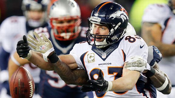 Wes Welker's return doesn't go his way