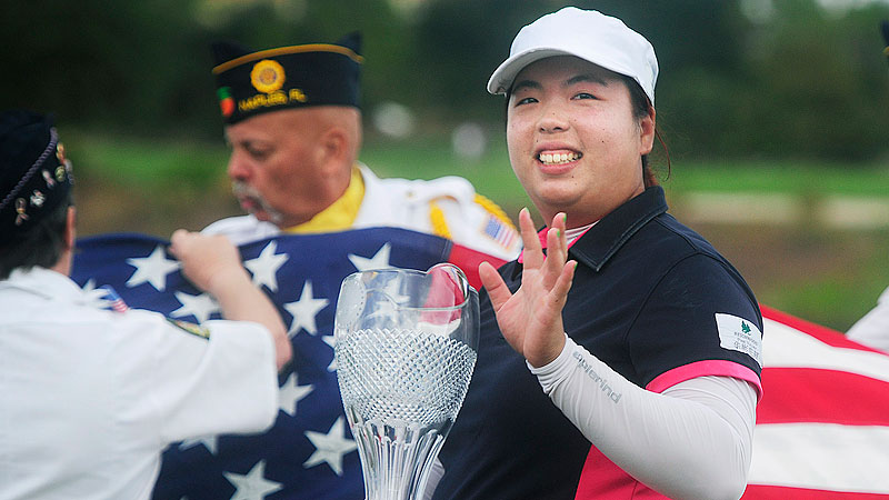 For winning the season-ending CME Group Titleholders, Shanshan Feng received 700,000, the richest prize of the season.