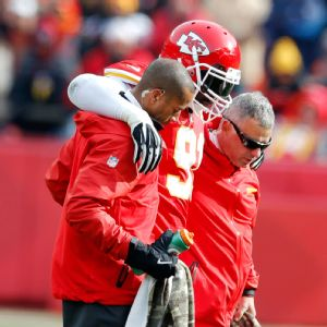 Tamba Hali suffered an ankle injury in Week 12, and the Chiefs struggled in his absence.