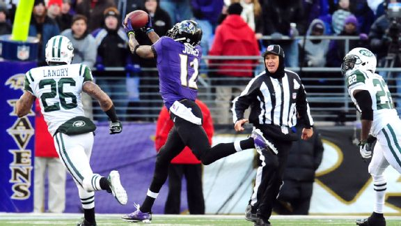 Timely return of deep pass attack for Flacco