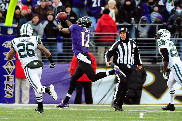 Ed Reed Jets Interception
