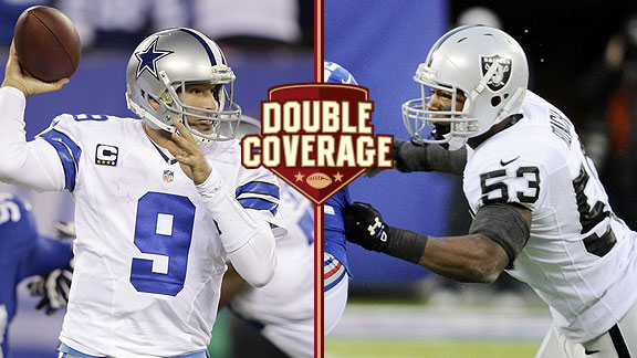 Double Coverage: Raiders at Cowboys