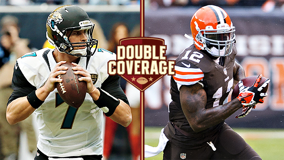 Double Coverage: Jaguars at Browns