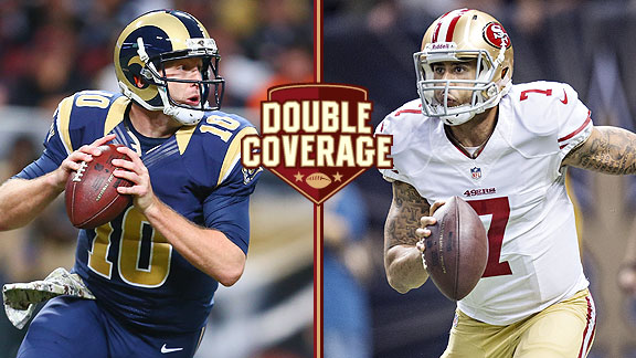 Double Coverage: Rams at 49ers