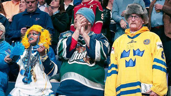 St Louis Blues fans