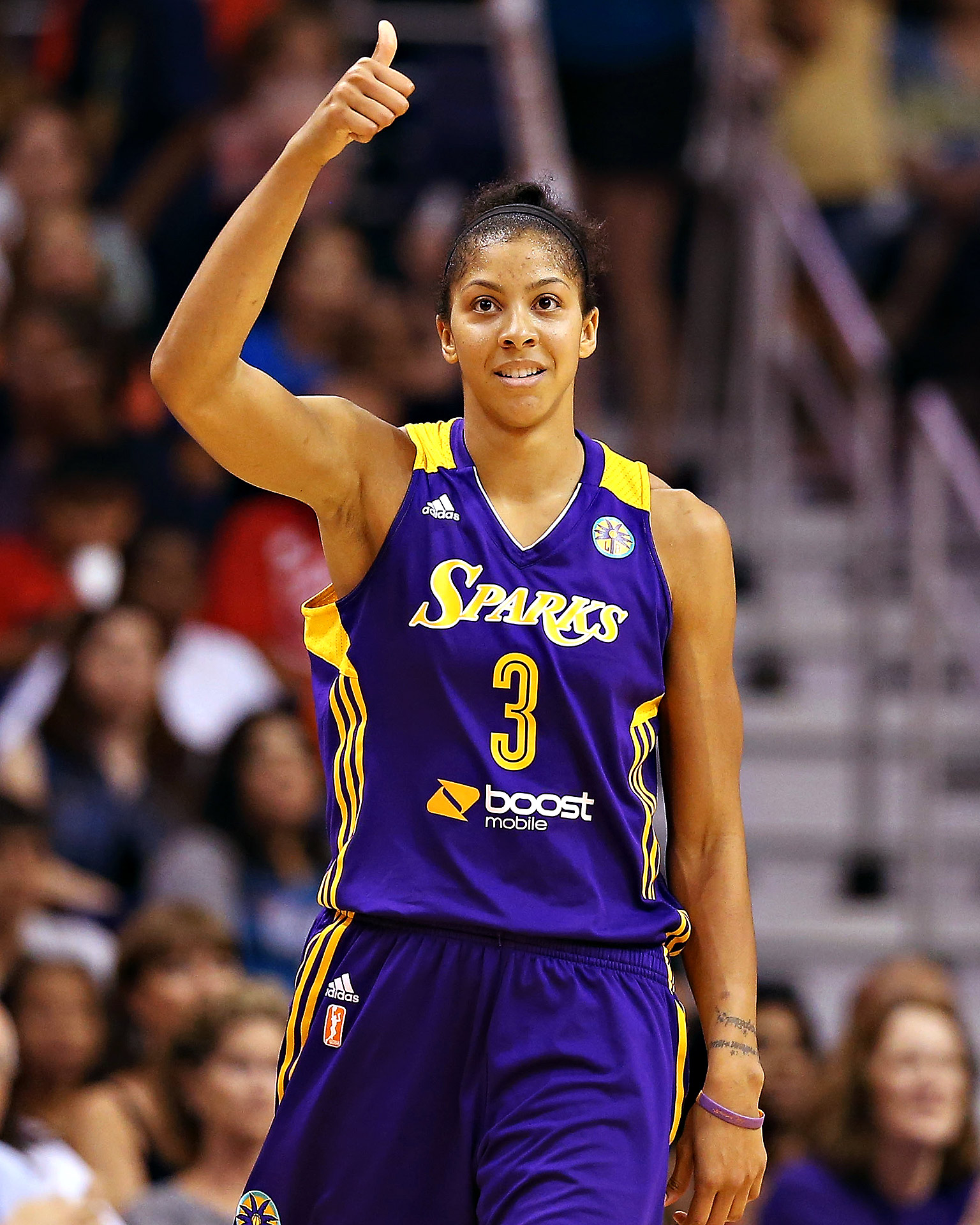Candace Parker earned a  million dollar salary, leaving the net worth at 1 million in 2017