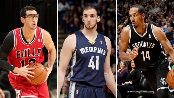 Hinrich, Koufos, Livingston
