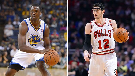Harrison Barnes and Kirk Hinrich