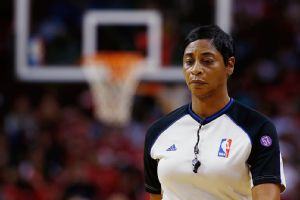 Violet Palmer never dreamed of being an NBA ref. The league noticed her work and offered her a job.