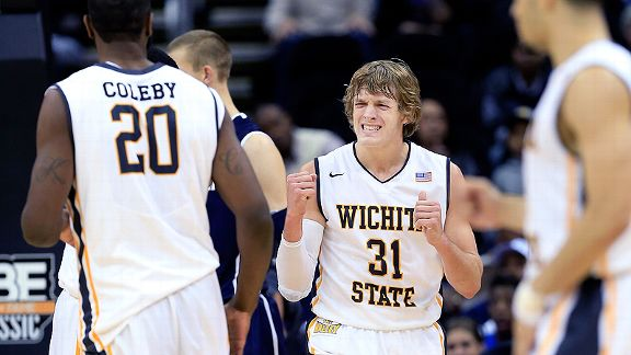 Wichita State Shockers reacts
